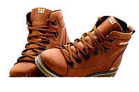 Мужские зимние кожаные ботинки в стиле CAT Expensive Fox