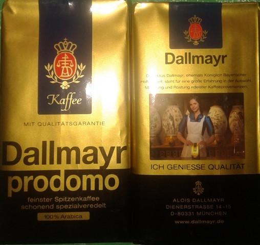 Молотый кофе Далмаер Продомо 500 гр