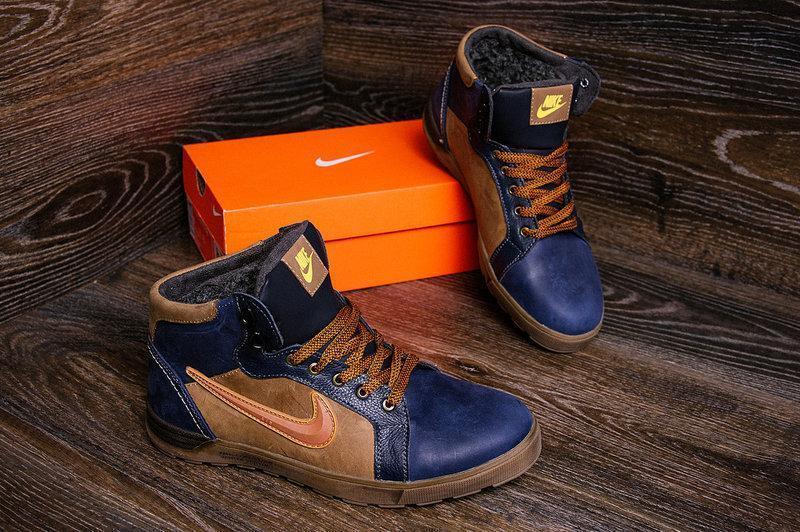 2f2bd56a Мужские Зимние Кожаные Ботинки в Стиле Nike Anti-Core — в Категории ...