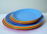 Тарелка пластиковая 25см