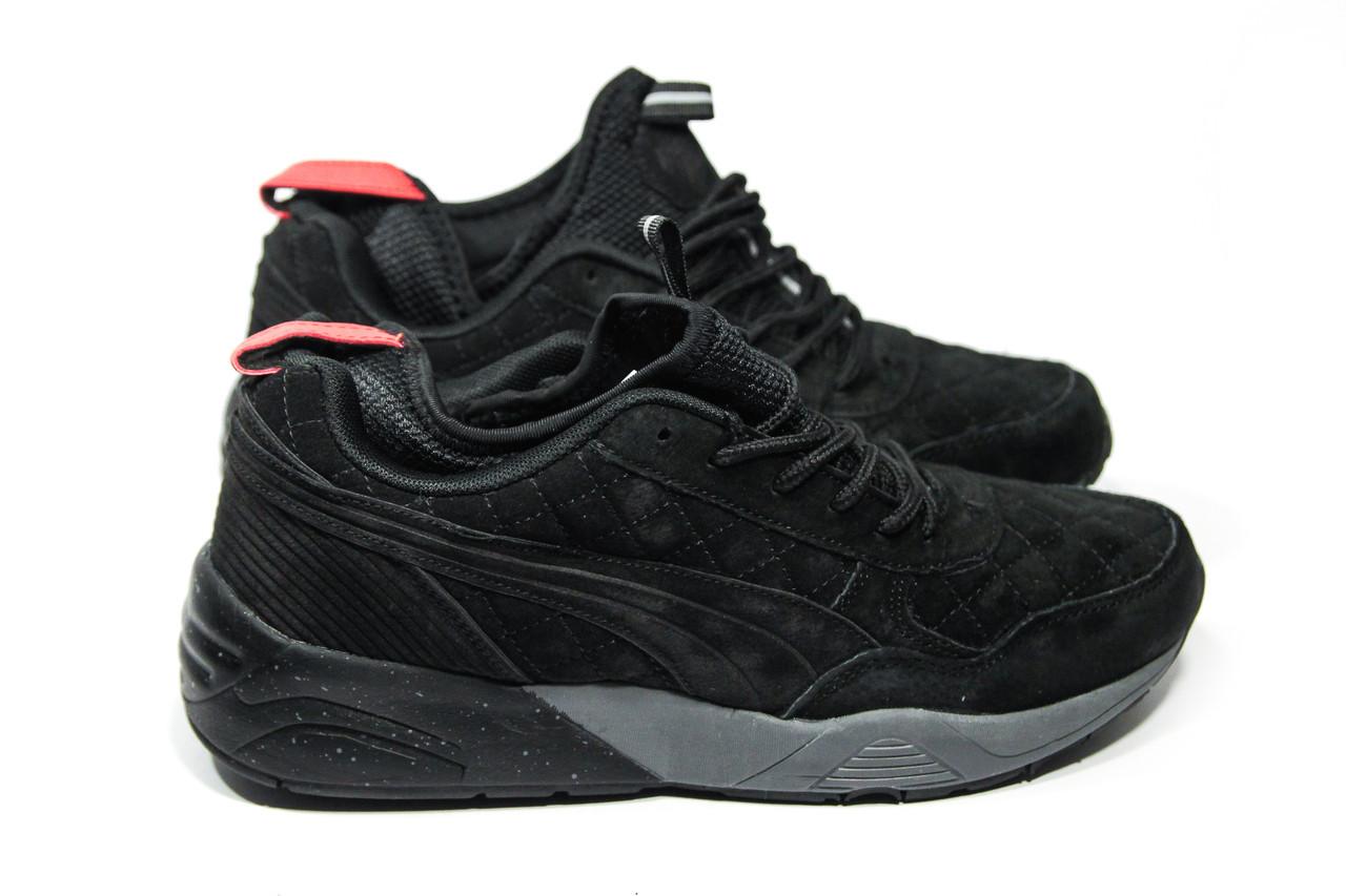 064617e32 Мужские зимние кроссовки на меху в стиле Puma Trinomic. Код товара ДП - 7-