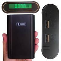 2 в 1 - Power Bank, корпус Tomo M4 (4x18650) + зарядное устройство 18650