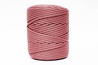 Трикотажный полипропиленовый шнур PP Cord 5 mm, цвет Карминный