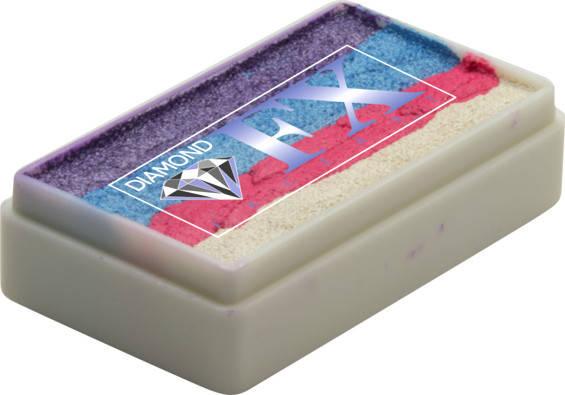 Аквагрим Diamond FX cплит кейк 28 g Жемчужный Цветок, фото 2