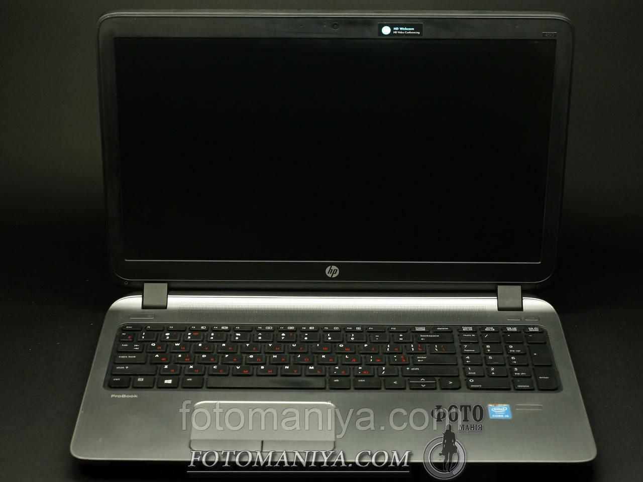 HP-ProBook 450 G2 15,6 Intel i5-5200U 2.2GHz 8GB DDR3 500GB HDD WIN10