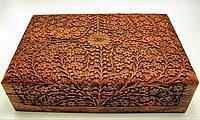 Шкатулка резная розовое дерево (30х20х8см),шкатулки из дерева,оригинальные подарки,товары для женщин