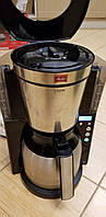 Кофеварка капельная MELITTA 1011-16 Look IV Therm Timer Black/Steel, фото 1