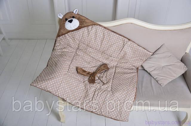 """купить конверт-одеяло на выписку """"Бурый Мишка""""в интернет-магазине"""