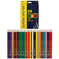 Набор цветных карандашей MARCO Superb Writer 4100-36CB, 36 цветов