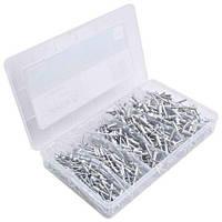 Заклепки алюминиевые, набор 400 предметов (3,2 x 4,8 мм) ASTA A-BR400S