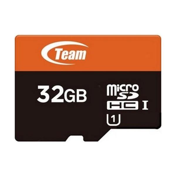 TEAM 32Gb microSDHC UHS-I + SD adapter (TUSDH32GUHS03)