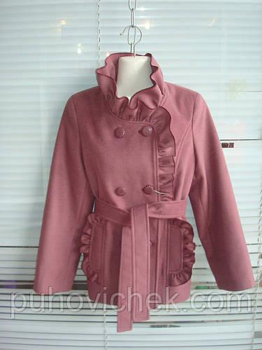 Детские пальто кашемировые