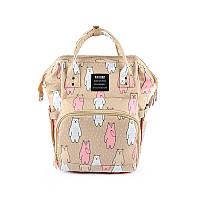 Сумка - рюкзак для мамы Мишки
