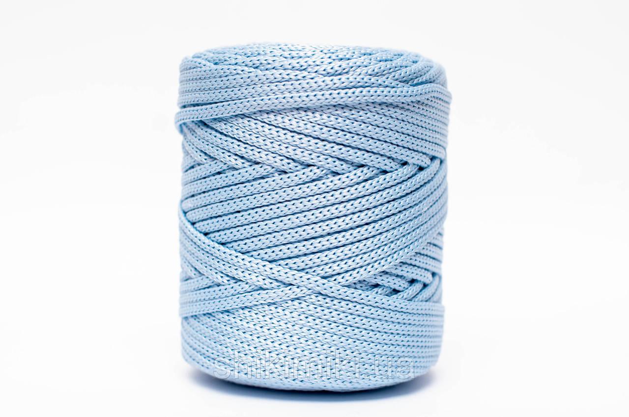 Трикотажный полипропиленовый шнур PP Cord 5 mm, цвет Голубой