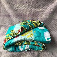 Одеяло двухспальное поликотон овечья шерсть Rosy