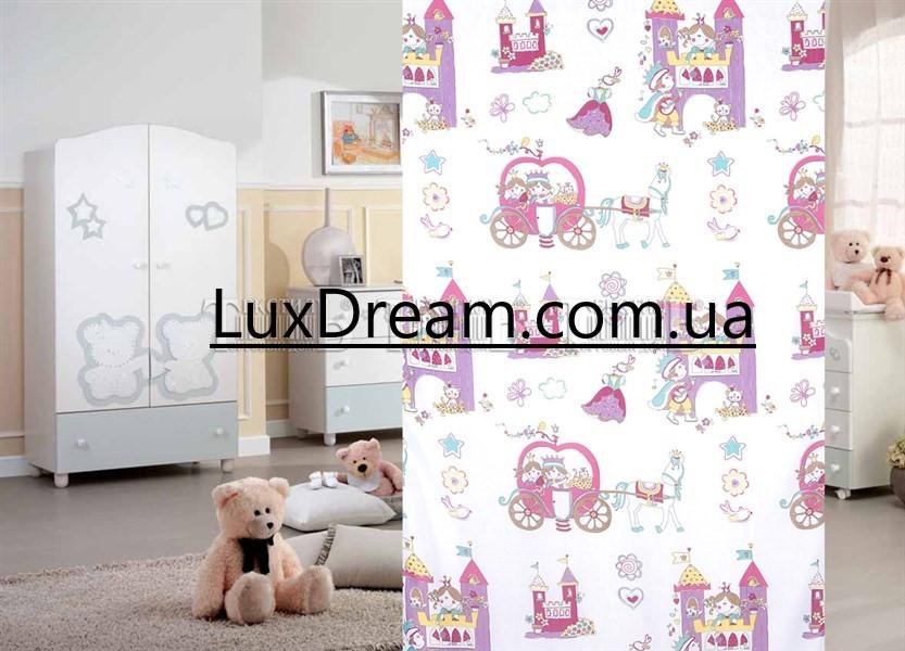 Тюль в детскую комнату для девочки. Принцесса.