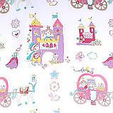 Тюль в детскую комнату для девочки. Принцесса., фото 2