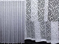 Тюль мелкая сетка, цвет белый. Код 194т, фото 1