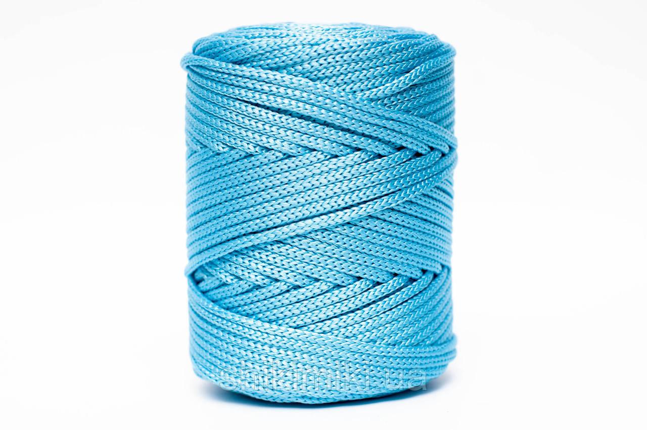 Трикотажный полипропиленовый шнур PP Cord 5 mm, цвет Топаз