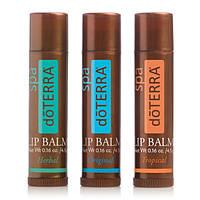 DōTERRA® SPA Lip Balm – 3 PACK / доТЕРРА СПА, Трио комплект питательных бальзамов для губ, 3* 4.5 гр