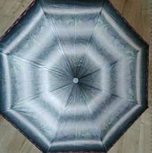 Женский зонт от дождя полуавтомат складной