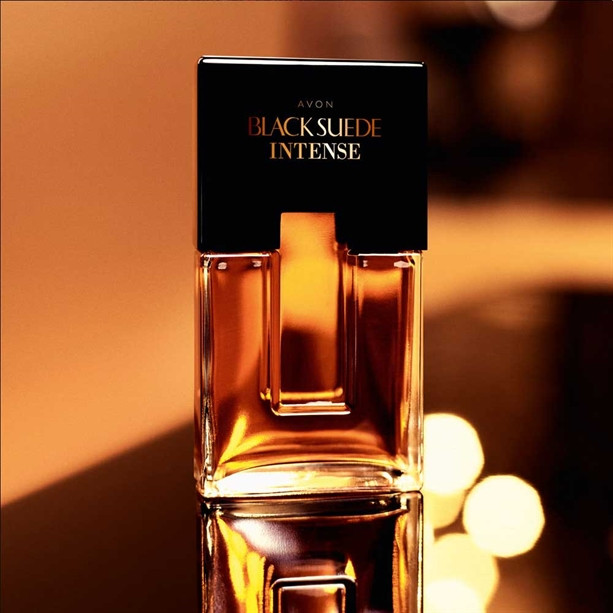 Black Suede Intense Avon Туалетная вода Блек Сью Интенсе (75 мл) Древесный аромат