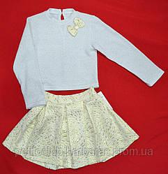 Нарядный комплект: кофта и юбочка для девочки (Zibi, Польша)