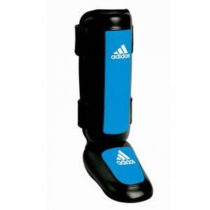 Защита голени и стопы ADIDAS Super Pro Shin-n-Step (Черный/синий)