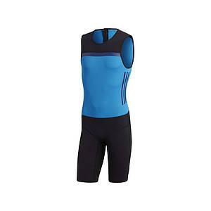 Костюм для важкої атлетики Adidas Crazypowersuit (синій, CW5655) S