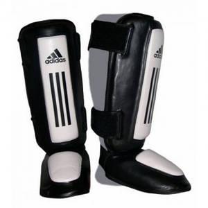 Защита голени и стопы ADIDAS Super Pro Shin-n-Step (черный/белый)