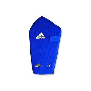 Защита голени (хлопок) ADIDAS Shin Pad Climacool (Синяя)