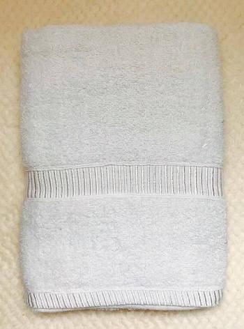 Полотенца однотонные (для гостинец) банные белого цвета (Венгрия), фото 2