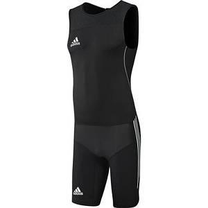 Трико для тяжелой атлетики ADIDAS Weightlifting Clima Lite Suit (Черное)