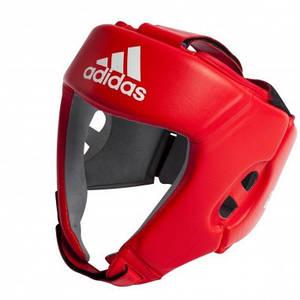 Боксерський шолом ADIDAS AIBA (Червоний)