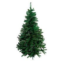 Елка зеленая литая 1.8 метра ✓ Искусственная зеленая ель Премиум ✓ Ели новогодние ПВХ ✓ Ялинка штучна, фото 3