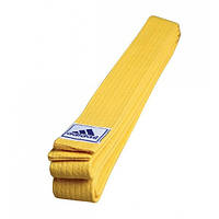 Пояс для кимоно Adidas серии CLUB (Желтый)