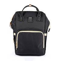 Сумка - рюкзак для мамы Черный