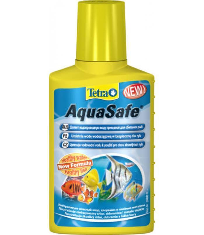 Tetra AQUA SAFE 100 мл для подготовки воды для аквариума