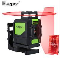Лазерный уровень Huepar 5 красных линий HP-901CR, фото 1