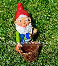Садовая фигура Гномы собирают урожай, фото 3
