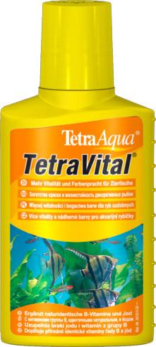 Tetra Aqua Vital 100 мл витаминизированный кондиционер на 200 л