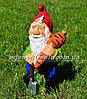 Садовая фигура Гномы собирают урожай, фото 4