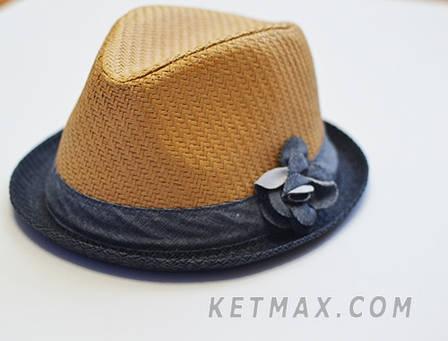 Соломенная шляпка The Children's Place для девочки, фото 2
