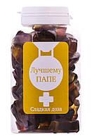 """Желейные конфеты в баночке Сладкая доза """"Лучшему папе"""""""