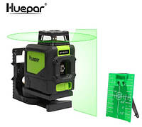 Лазерный уровень Huepar 5 зелёных линий HP-901CG, фото 1