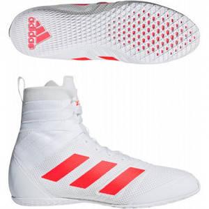 Взуття для боксу (боксерки) Adidas Speedex 18 (білий, B96493) 44.5