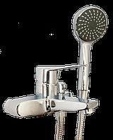 Смеситель для ванны LIDZ SIT3, короткий гусак