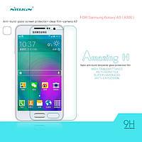 Защитное стекло Nillkin Anti-Explosion Glass для Samsung Galaxy A3 A300, фото 1