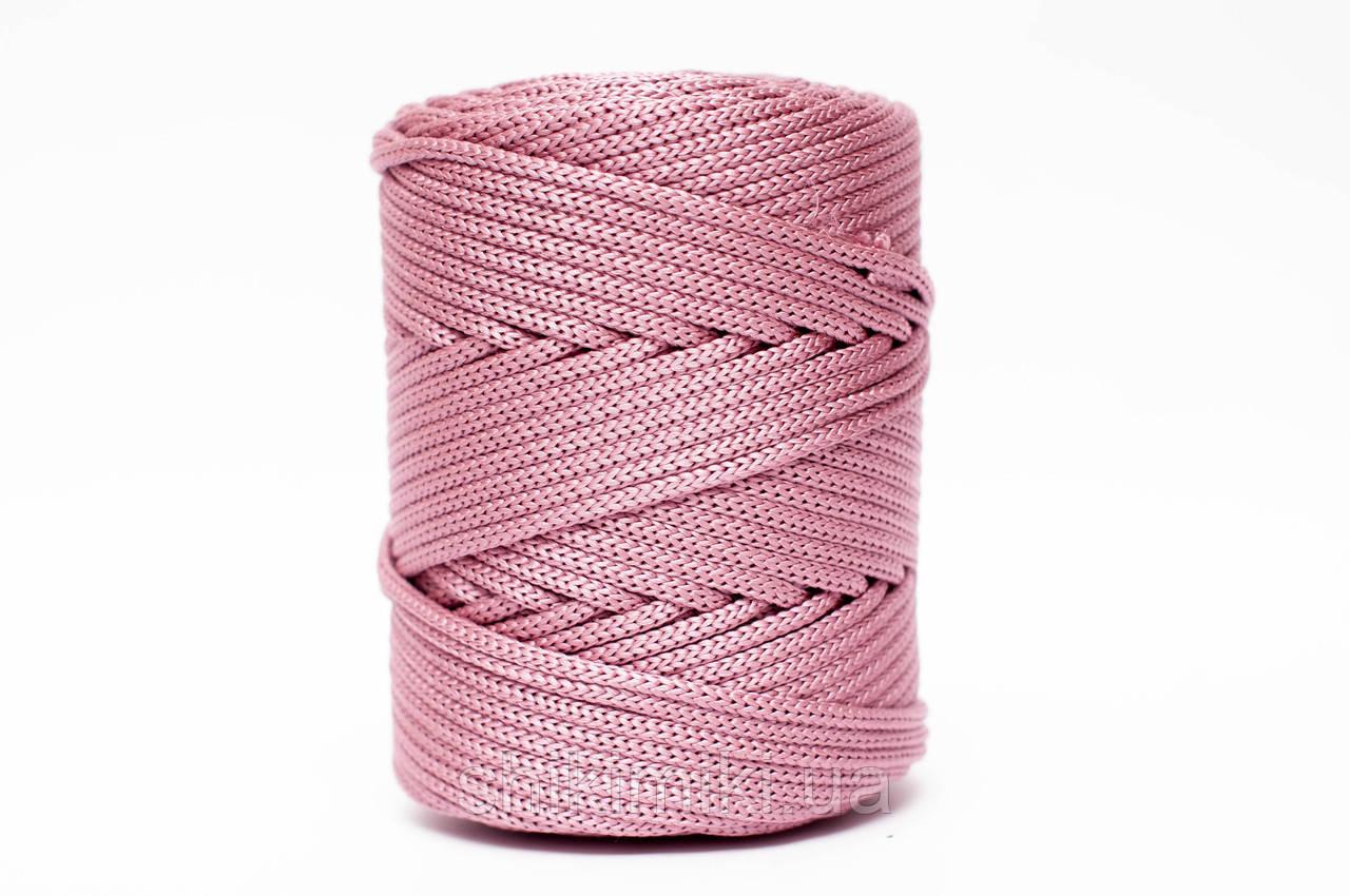 Трикотажный полипропиленовый шнур PP Cord 5 mm, цвет Фиалковый