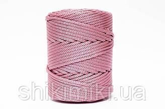 Трикотажный полиэфирный шнур PP Cord 5 mm,цвет фиалковый
